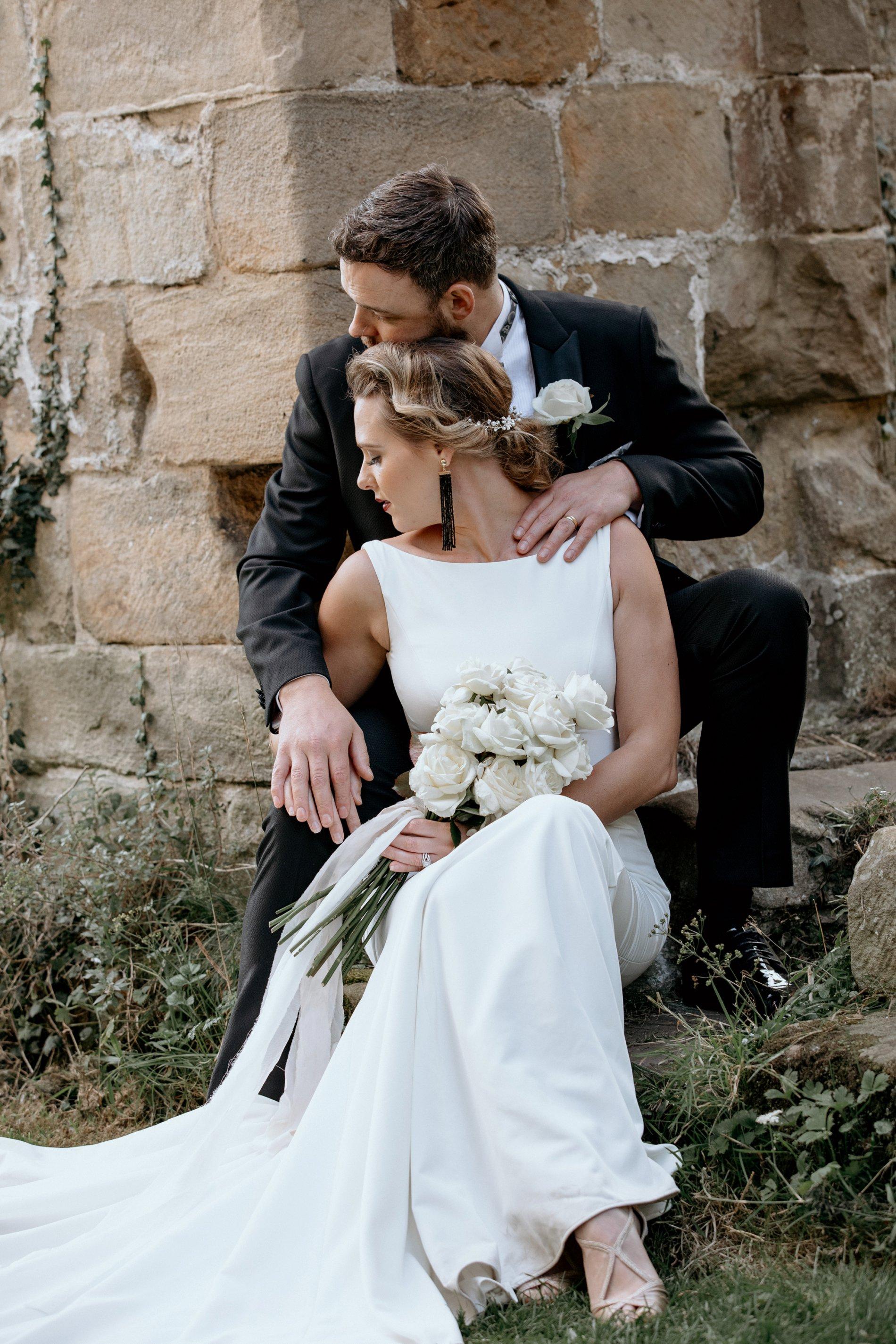 An Elegant Wedding Shoot at Jervaulx Abbey (c) Natalie Hamilton Photography (62)