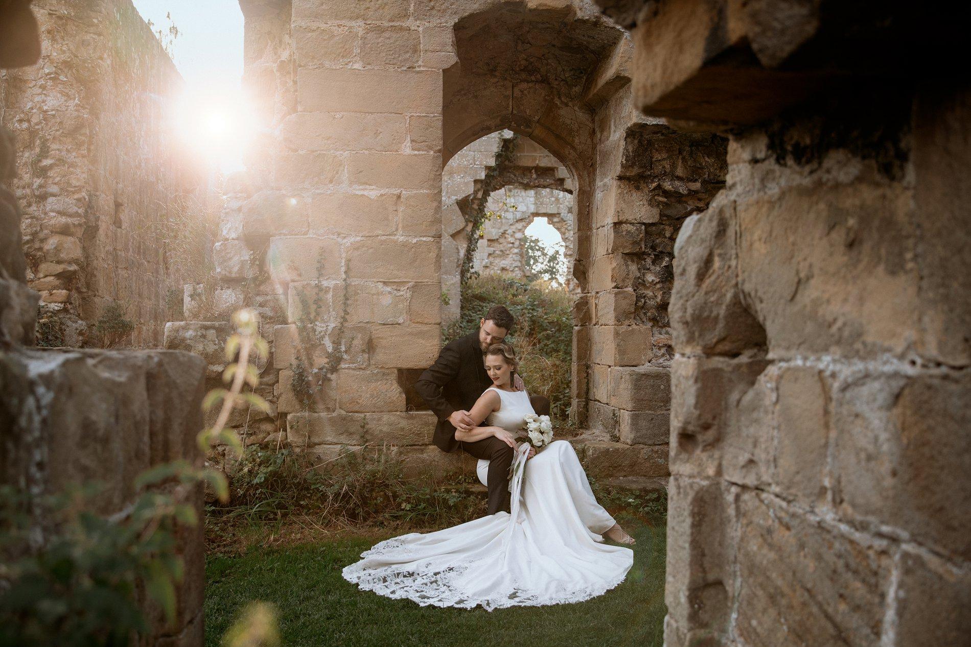 An Elegant Wedding Shoot at Jervaulx Abbey (c) Natalie Hamilton Photography (67)