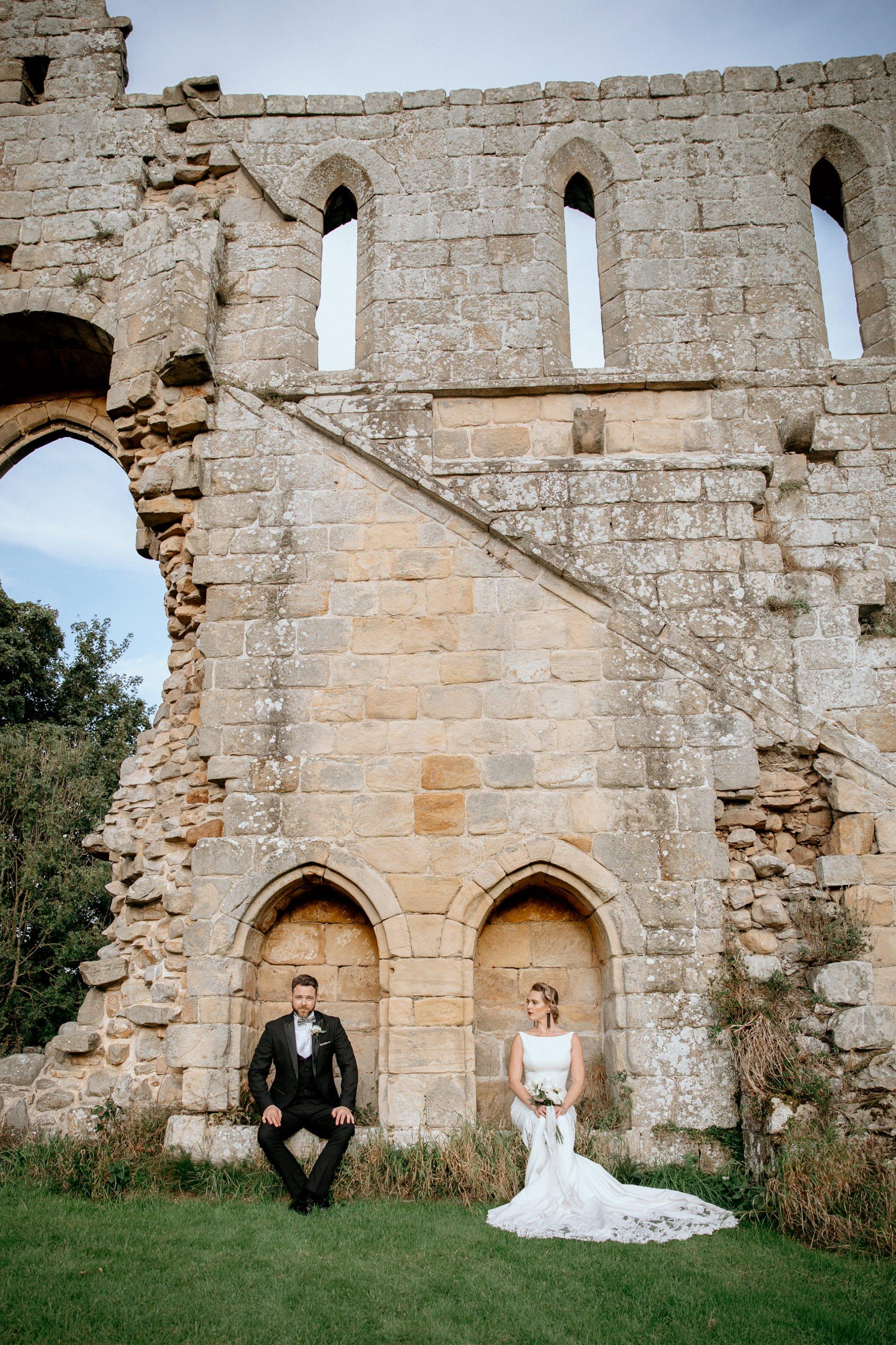 An Elegant Wedding Shoot at Jervaulx Abbey (c) Natalie Hamilton Photography (73)