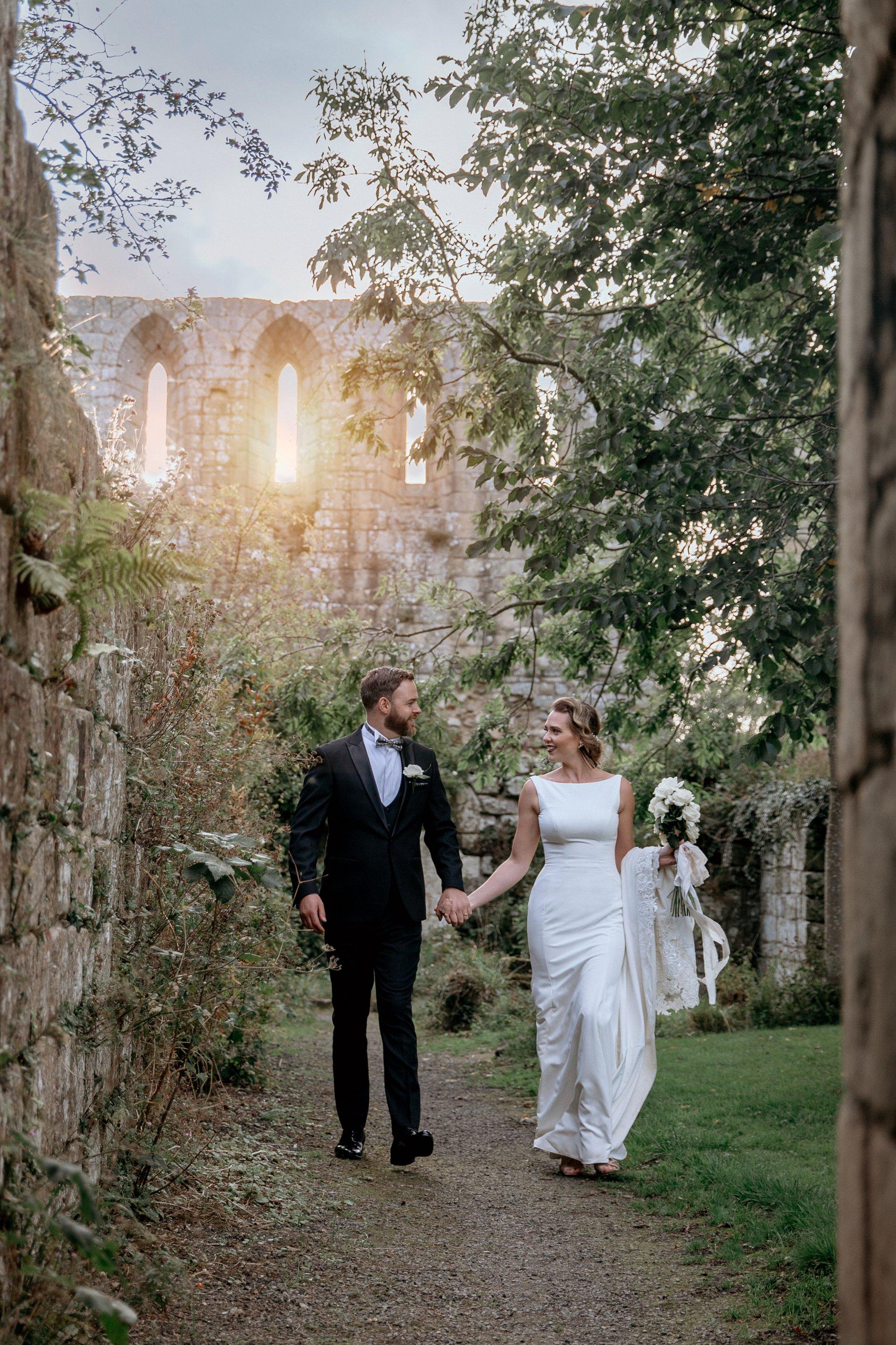 An Elegant Wedding Shoot at Jervaulx Abbey (c) Natalie Hamilton Photography (80)