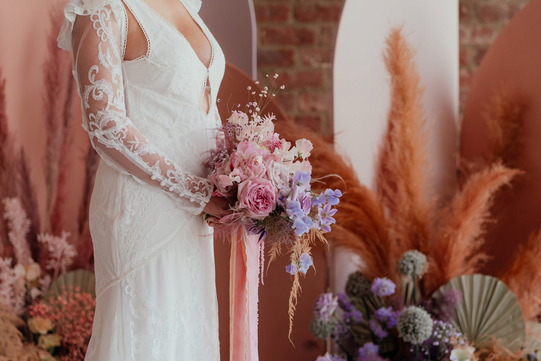 Romantic Boho Wedding Shoot at The Barn In Willerby Hill (c) Rosanna Lilly Photography (1)