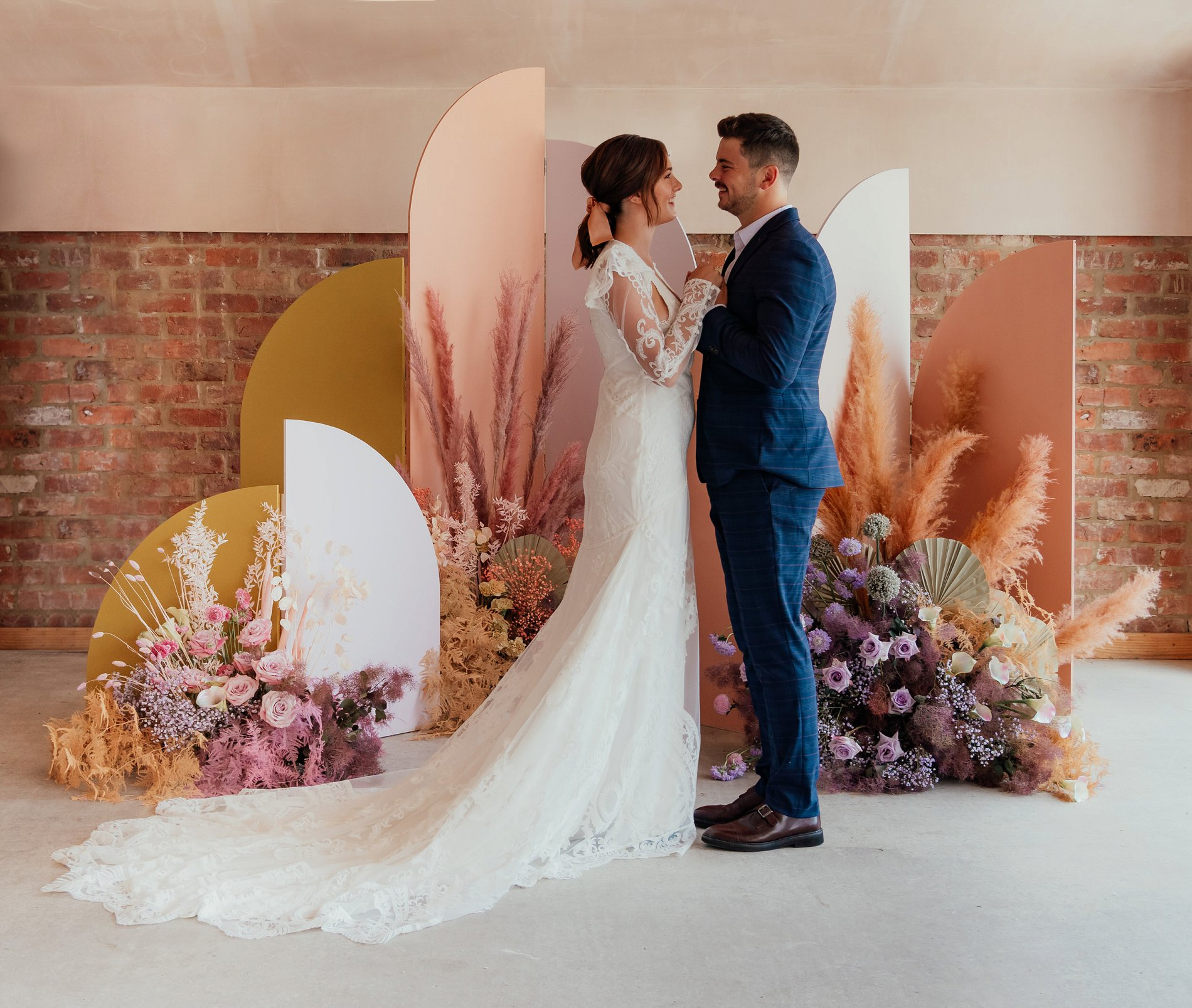 Romantic Boho Wedding Shoot at The Barn In Willerby Hill (c) Rosanna Lilly Photography (18)