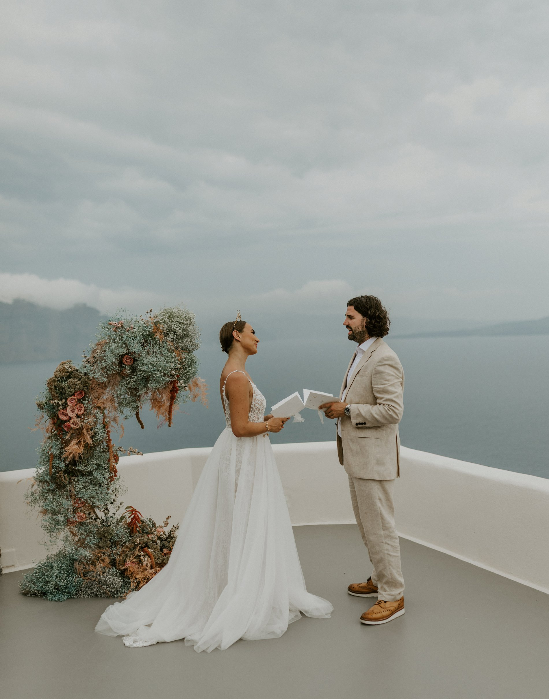 Santorini Elopement 2020