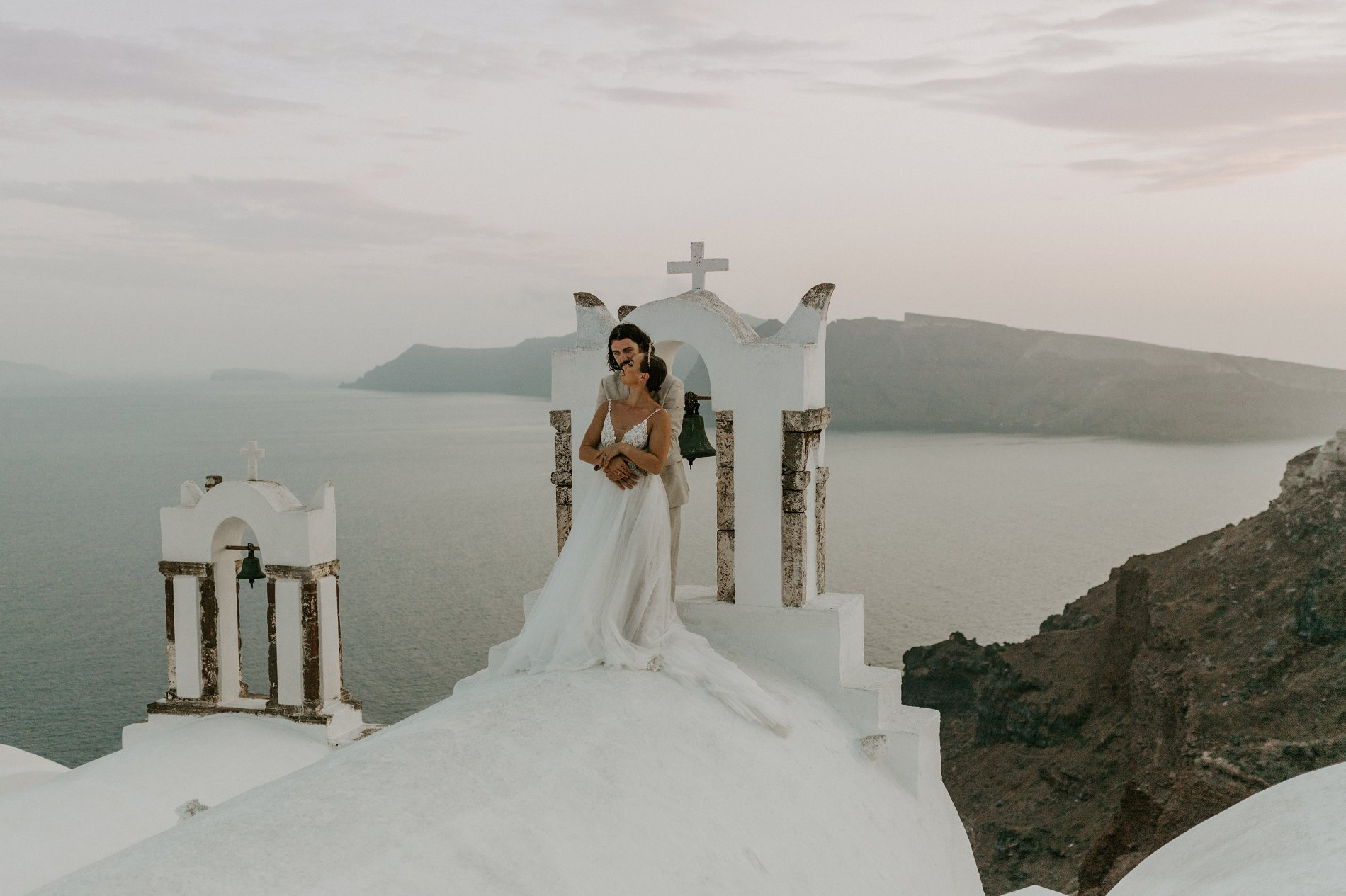Georgie & Will - Santorini
