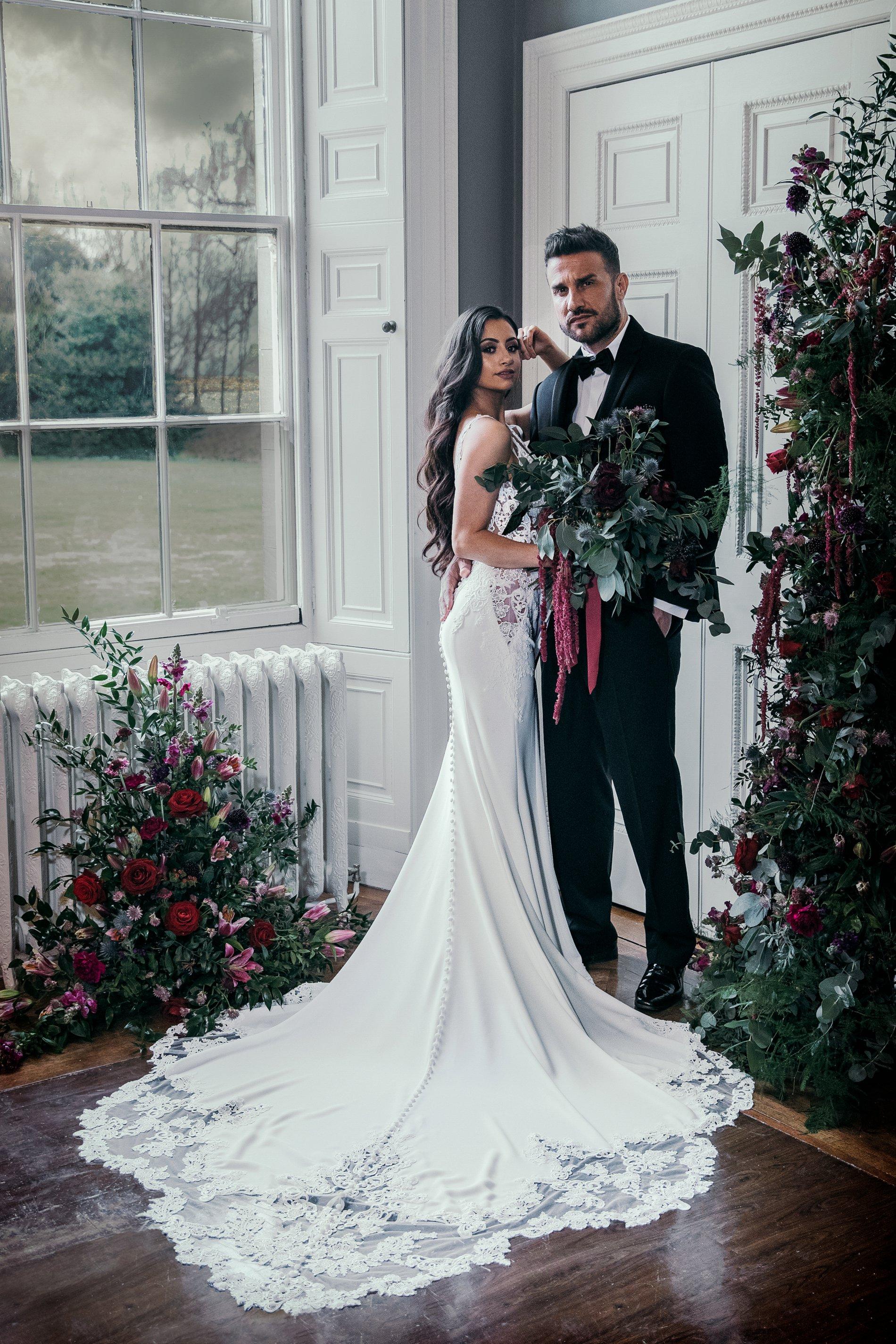 A Black Tie Wedding Creative Shoot at Saltmarshe Hall (c) Natalie Hamilton Photography (23)