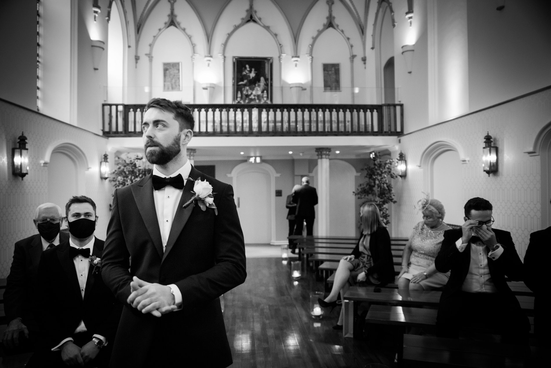 An Elegant Micro Wedding at Lartington Hall (c) Edward Ashley Photography (29)