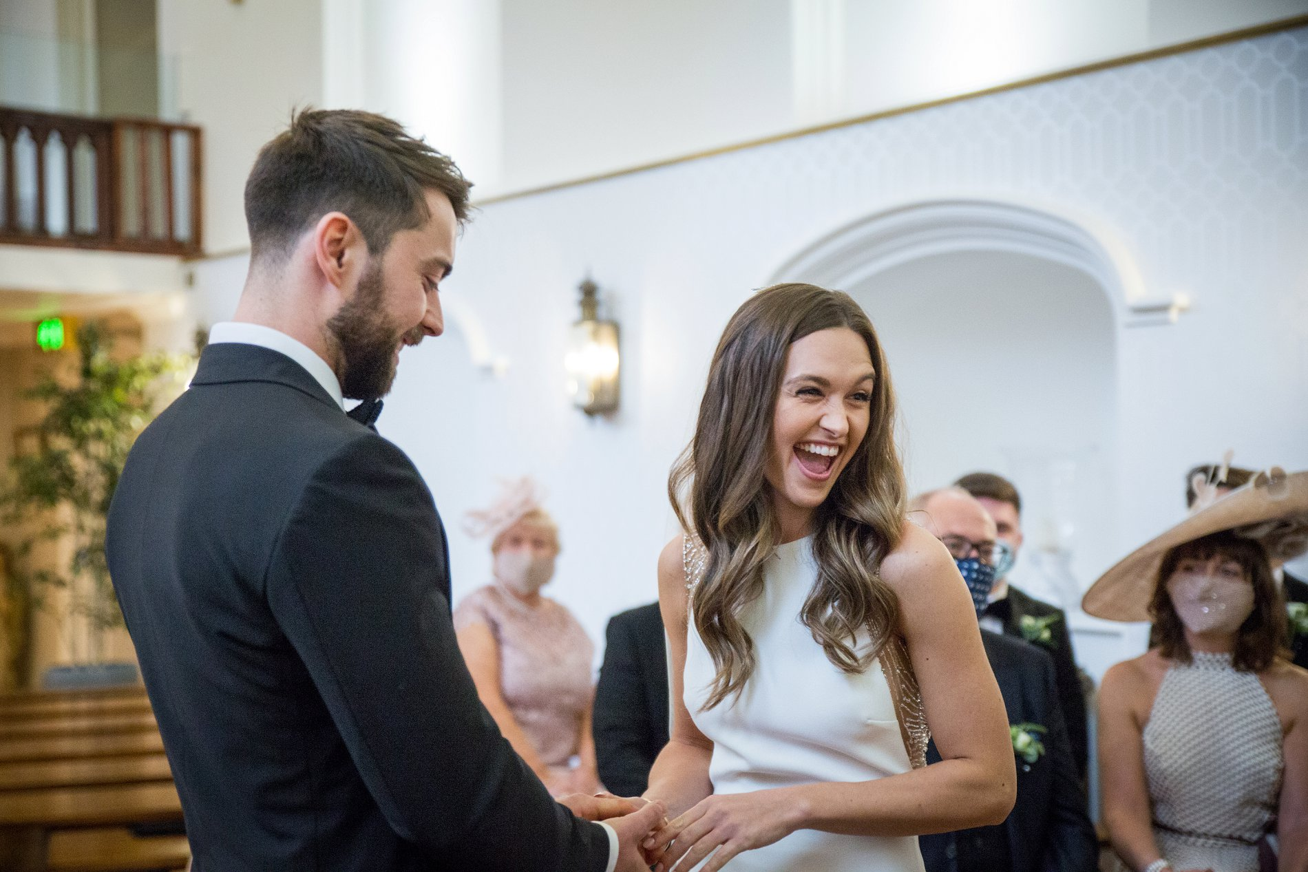 An Elegant Micro Wedding at Lartington Hall (c) Edward Ashley Photography (37)