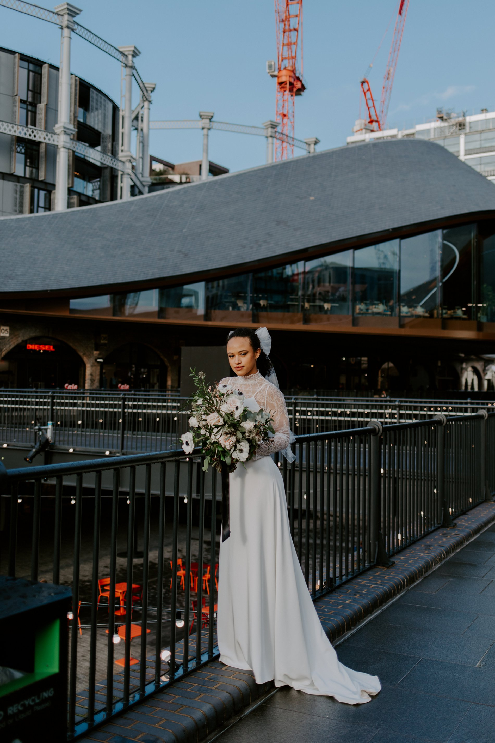City Wedding Styled Shoot at Coal Drops Yard (c) Emztography (26)