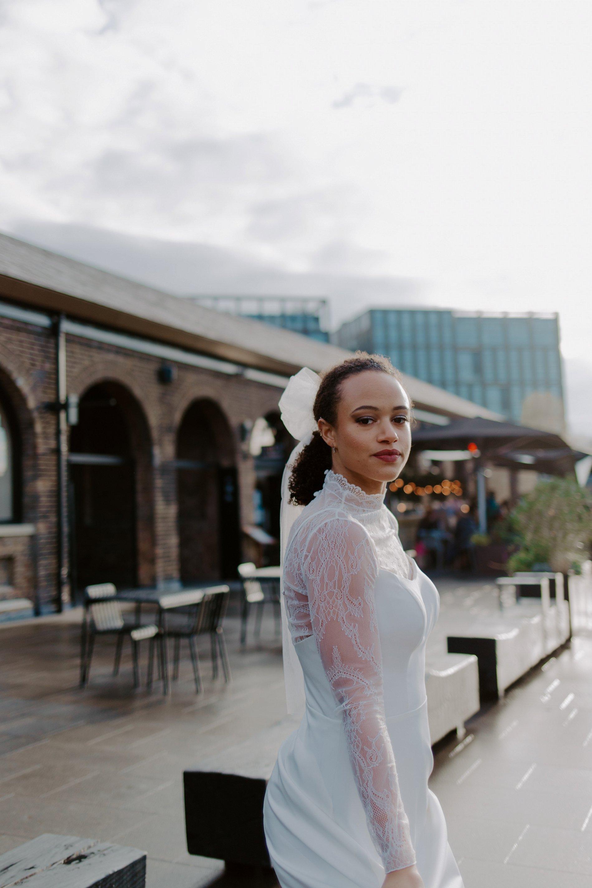City Wedding Styled Shoot at Coal Drops Yard (c) Emztography (30)