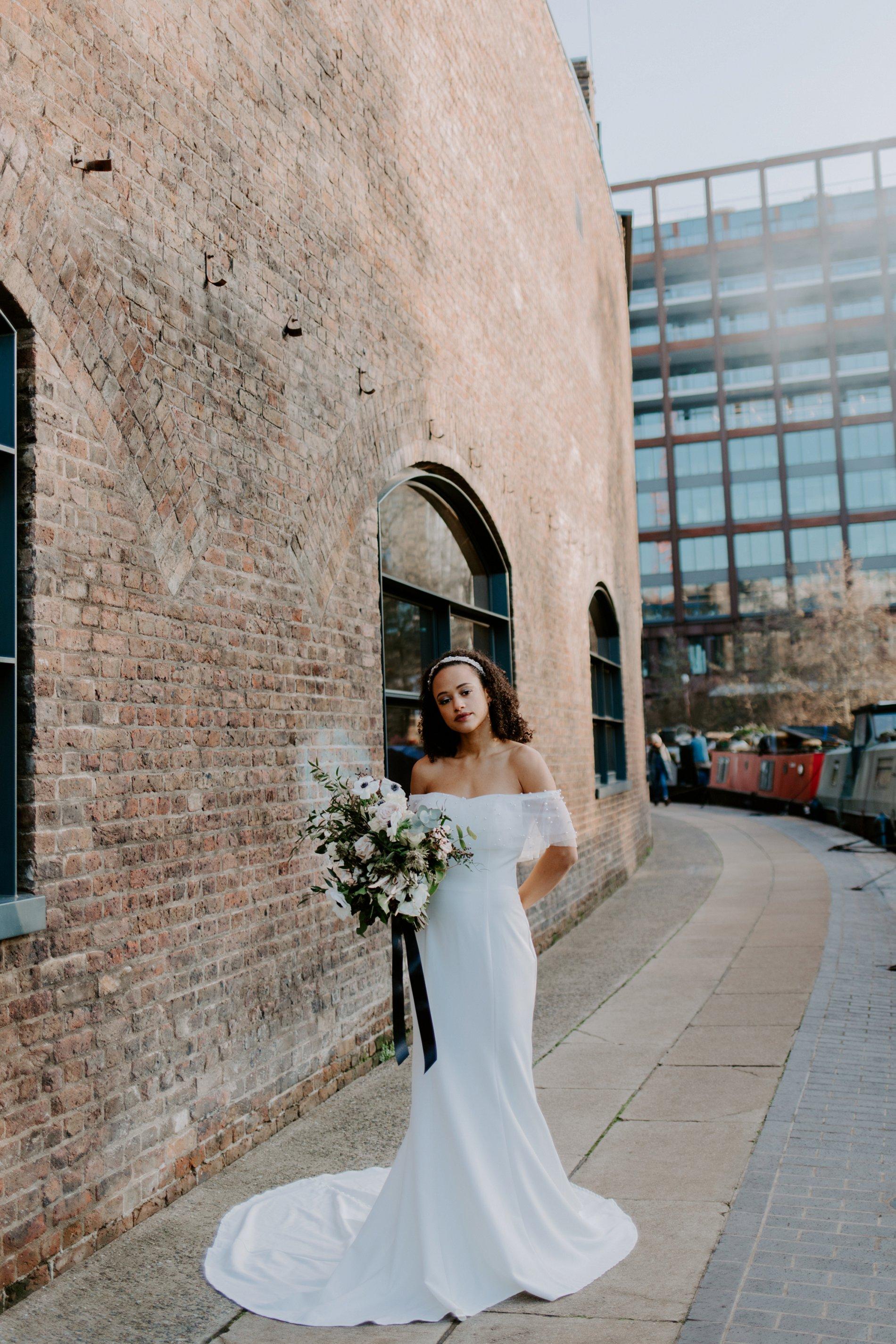 City Wedding Styled Shoot at Coal Drops Yard (c) Emztography (44)