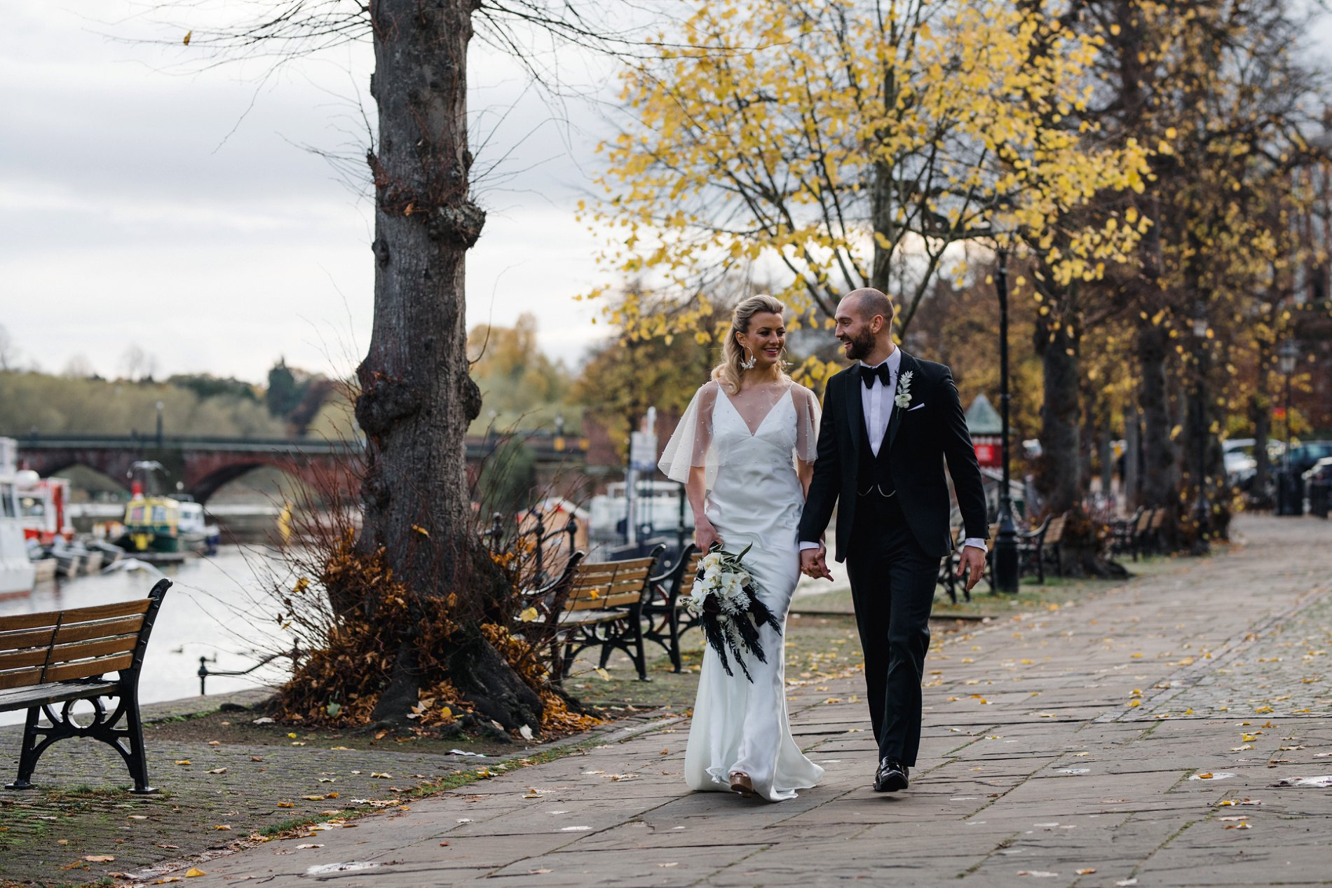 A Black Tie Wedding Shoot at The Old Palace Chester (c) Adam Hudson Photography (33)